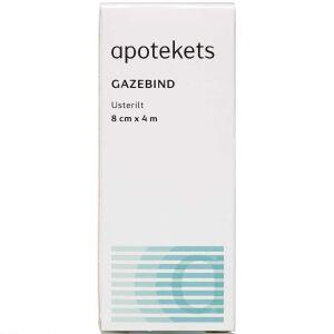 Køb Apotekets Gazebind 8cm x 4m online hos apotekeren.dk