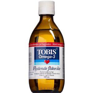 Køb Tobis Fiskeolie 300 ml online hos apotekeren.dk