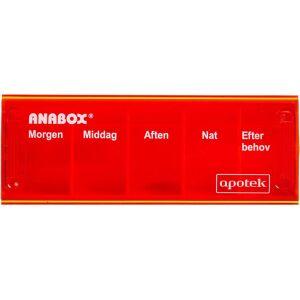Køb Anabox Doseringsæske daglig assorteret 1 stk. online hos apotekeren.dk