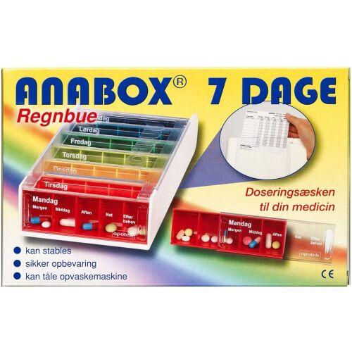 Køb Anabox Doseringsæske ugebox 1 stk. online hos apotekeren.dk