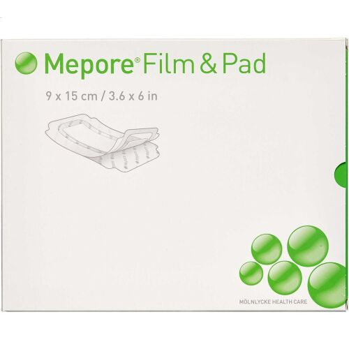 Køb Mepore Film og Pad 9 x 15 cm 5 stk. online hos apotekeren.dk