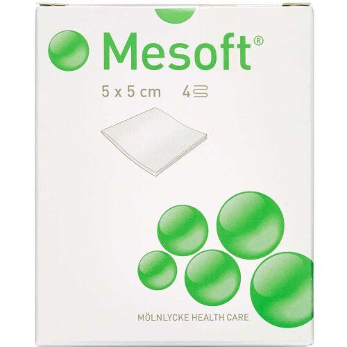 Køb Mesoft Kompres steril 5 x 5 cm 20 stk. online hos apotekeren.dk