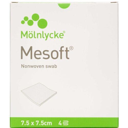 Køb Mesoft Kompres steril 7,5 x 7,5 cm 20 stk. online hos apotekeren.dk