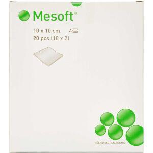 Køb Mesoft Kompres steril 10 x 10 cm 20 stk. online hos apotekeren.dk