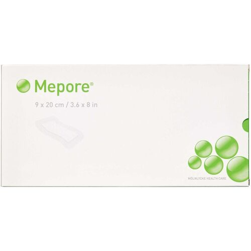 Køb Mepore Forbinding steril 9 x 20 cm 5 stk. online hos apotekeren.dk