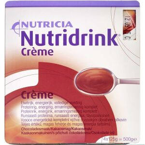 Køb Nutridrink Creme Chokolade 4 x 125 g online hos apotekeren.dk