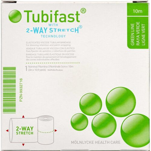Køb Tubifast 2-WAY Stretch GRØN 5 cm x 10 m. online hos apotekeren.dk