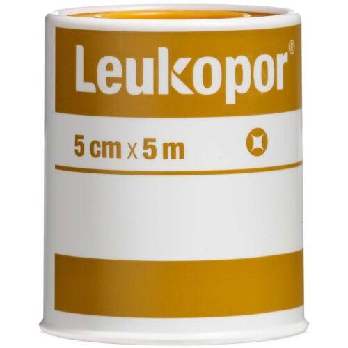 Køb Leukopor 2474 5 cm x 5 m 1 stk. online hos apotekeren.dk