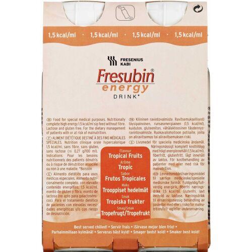 Køb Fresubin® Energy Drink Mix 6 x 4 x 200 ml - Mix af blandede smagsvarianter online hos apotekeren.dk