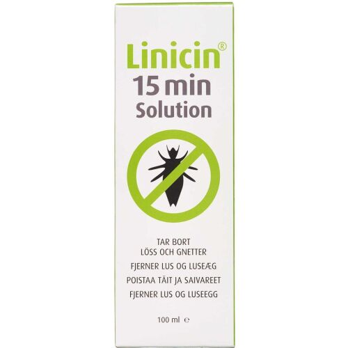 Køb Linicin 15 min Solution 100 ml online hos apotekeren.dk