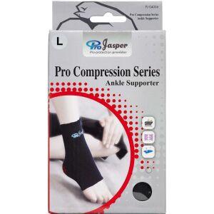 Køb Jasper Pro Compression ankelbind large 1 stk. online hos apotekeren.dk