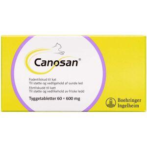 Køb Canosan Tyggetablet til kat 600 mg 60 stk. online hos apotekeren.dk