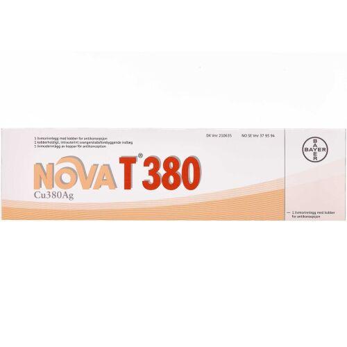 Køb NOVAT 380 spiral 1 stk. online hos apotekeren.dk