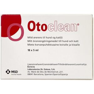 Køb Oto Clean 18 x 5 ml online hos apotekeren.dk