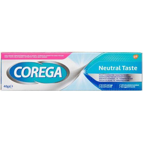 Køb Corega Neutral 40 g online hos apotekeren.dk
