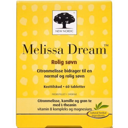 Køb Melissa Dream 60 stk. online hos apotekeren.dk
