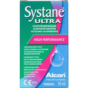 Køb Systane Ultra Øjendråber 10 ml online hos apotekeren.dk