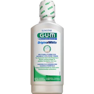 Køb GUM Original White Mundskyl 500 ml online hos apotekeren.dk