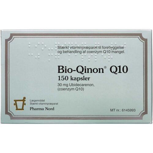 Køb Bio-Qinon Q10 Kapsler, 30 mg 150 stk. online hos apotekeren.dk