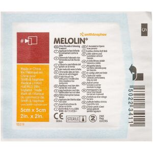 Køb MELOLIN kompresser 5 x 5 cm 1 stk. online hos apotekeren.dk