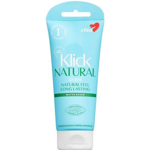 Køb RFSU Klick Natural Glide RFSU Klick Natural Glide online hos apotekeren.dk