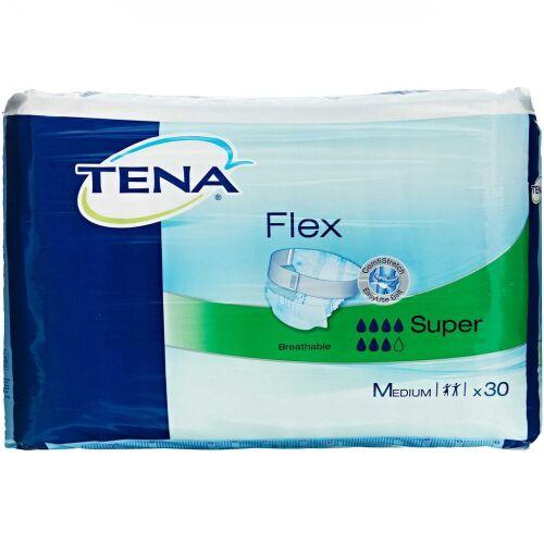 Køb TENA Flex Super medium 30 stk. online hos apotekeren.dk