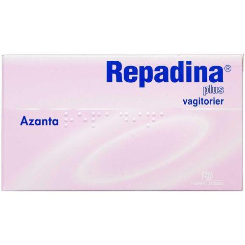 Køb Repdadina Plus Vagitorier 10 stk. online hos apotekeren.dk
