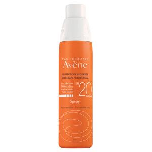 Køb Avène Sun Spray SPF20 200 ml online hos apotekeren.dk