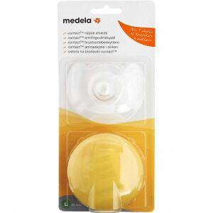 Køb Medela Contact brik - large 24 mm 2 stk. online hos apotekeren.dk