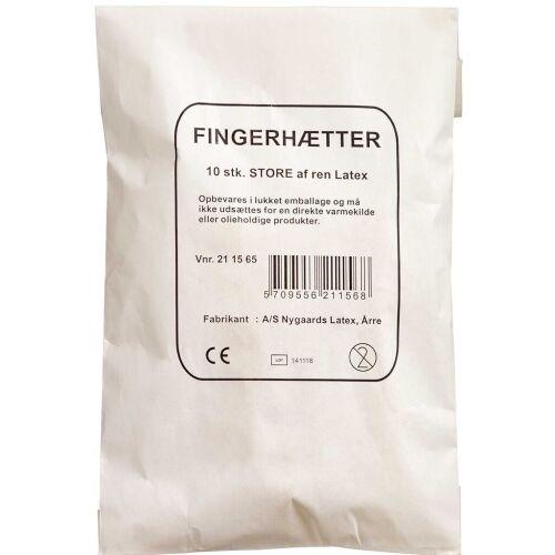Køb Fingerhætter Gummi online hos apotekeren.dk