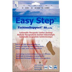 Køb Easy Step knæ lukket tå nude M 1 par online hos apotekeren.dk