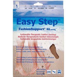 Køb Easy Step knæ lukket tå nude XXL 1 par online hos apotekeren.dk