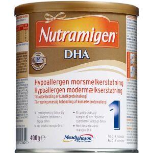 Køb Nutramigen 1 DHA 400 g online hos apotekeren.dk