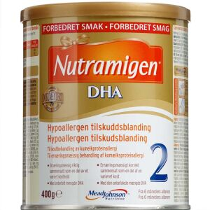 Køb Nutramigen 2 DHA 400 g online hos apotekeren.dk