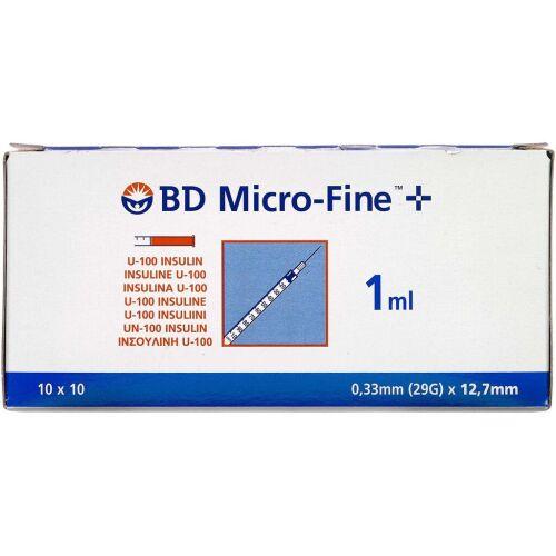 Køb BD MICROFINE+100ENH 12,7MM online hos apotekeren.dk