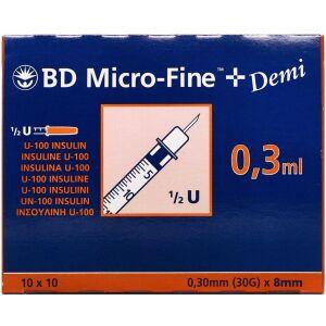 Køb BD MICROFINE+30ENH 8MM online hos apotekeren.dk