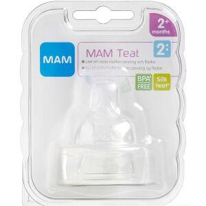 Køb MAM Flaskesut, størrelse 2 2 stk. online hos apotekeren.dk