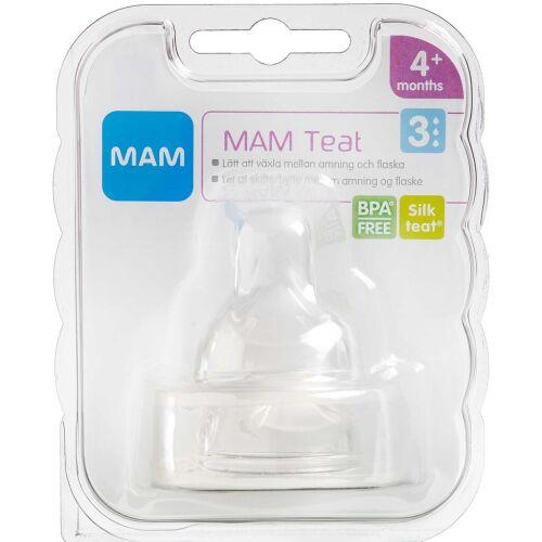 Køb MAM Flaskesut, størrelse 3 2 stk. online hos apotekeren.dk