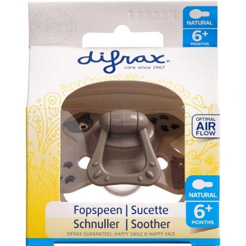 Køb Difrax Sut Natural silikone 6+ mdr. 1 stk. online hos apotekeren.dk