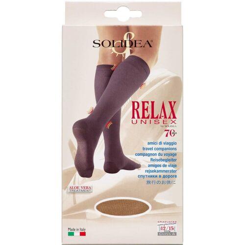 Køb Solidea Knæ Relax Unisex 70 camel - small 1 stk. online hos apotekeren.dk