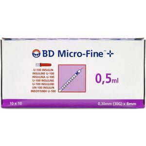 Køb BD MICROFINE+50ENH 8MM online hos apotekeren.dk