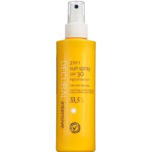 Køb Decubal 2 in 1 Sun Spray SPF30 200 ml online hos apotekeren.dk