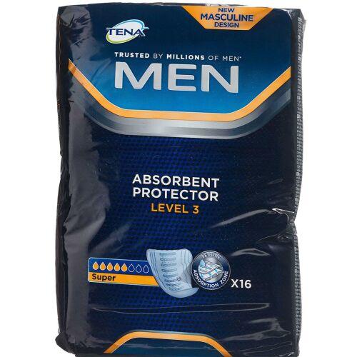 Køb Tena Men Level 3 16 stk. online hos apotekeren.dk