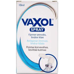 Køb Vaxol ørespray forebygger og fjerner ørevoks 10 ml online hos apotekeren.dk