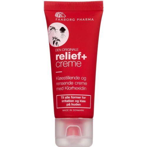 Køb Faaborg Pharma Relief+ Creme 25 ml tube online hos apotekeren.dk