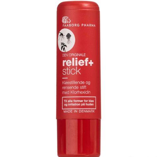 Køb Faaborg Pharma Relief+ Stick 5,4 g online hos apotekeren.dk