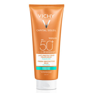 Køb Vichy Capital Soleil Solcreme SPF50+ 300 ml online hos apotekeren.dk