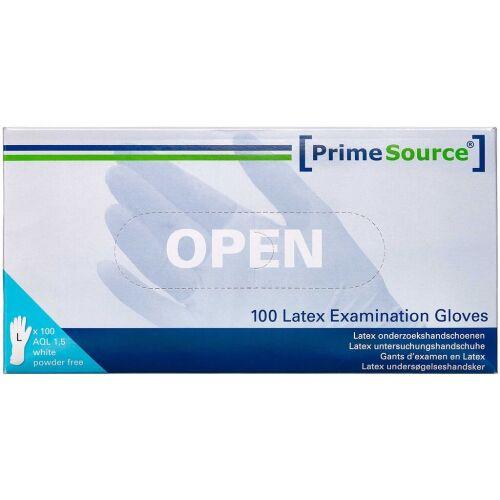 Køb Primesource Latex handske pudderfri - large 100 stk. online hos apotekeren.dk