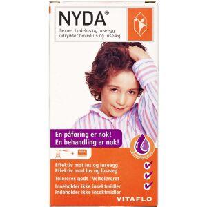 Køb NYDA lusemiddel med tættekam 50 ml online hos apotekeren.dk
