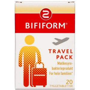 Køb Bifiform Travel Pack 20 stk. online hos apotekeren.dk